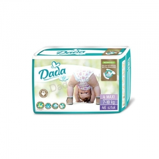 Dada plenky extra soft 4 7-18kg 46ks
